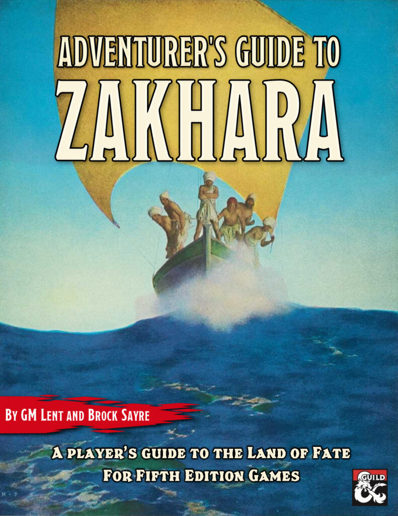 Adventurer's Guide to Zakhara cover image